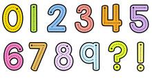 Teacher Font Trace Number Form...