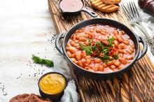 Vegetarian Menu. Stewed Beans ...