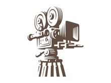 Film Industry Silhouette Icons...