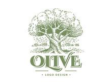 Olive Label, Emblem Design. Ol...