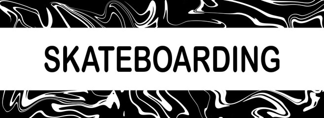 web Sport Label Skateboarding