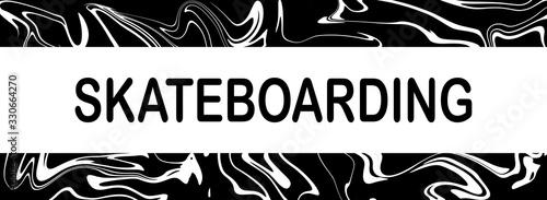 web Sport Label Skateboarding