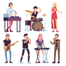 Musicians. Rock And Pop Musici...