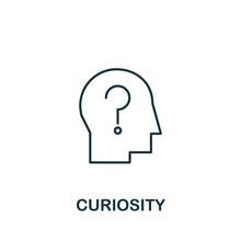 Curiosity Icon From Life Skill...