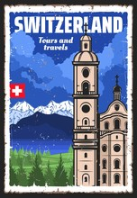 Switzerland Travel Landmark An...