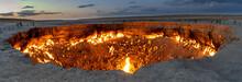 Panorama Darvaza Fire Crater