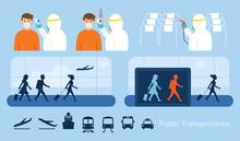 Airport Or Public Transport, P...