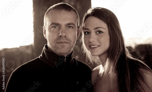 Photo giovane coppia