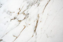 Close-up On White Marble Tile