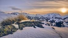 Beautiful Sunrise Over Alpe D ...