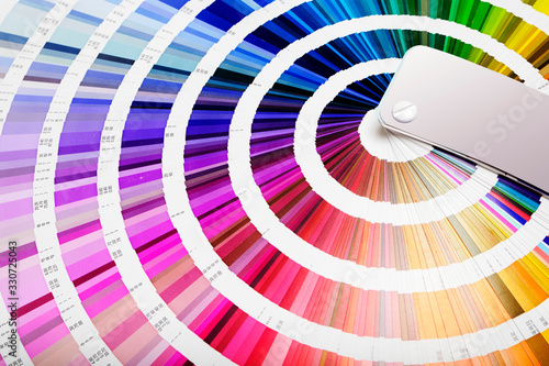 Ruota colori Canvas Print