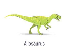 Allosaurus. Theropoda Dinosaur...