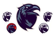 Raven Vector Emblem