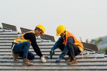 Construction Worker Wearing Sa...
