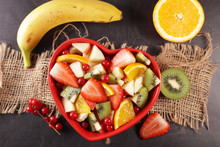 Mixed Fruit Salad With Berry, ...