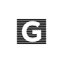 GG G Logo Icon Design Template
