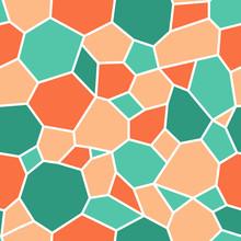 Seamless Pattern, Ornate Turtl...
