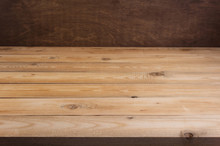 Wooden Plank Board Background As Texture Surface