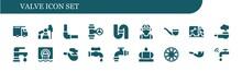 Valve Icon Set