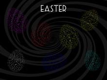 Easter Eggs Neon Fluorescent D...