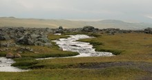 Stream Flowing Through Volcani...