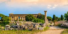 Archaeological Site Of Paestum...