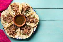 Mexican Slow Cooked Lamb Tacos...
