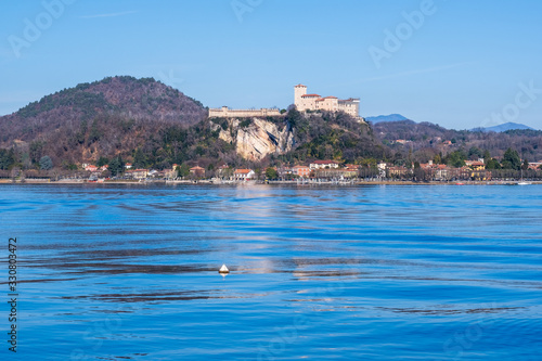 Fotografie, Tablou Rocca di Angera. Lake Maggiore, Italy.