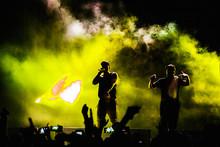 Fondo Fiesta De Rap Artistas Urbanos