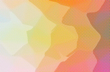 Abstract Illustration Of Orange Dots Background