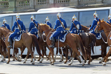 Mounted Royal Guards During Ch...