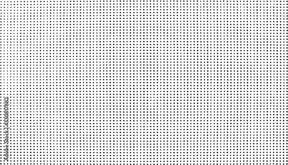 Fototapeta Subtle halftone grunge urban texture vector. Distressed overlay texture. Grunge background. Abstract mild textured effect. Vector Illustration. Black isolated on white. EPS10.