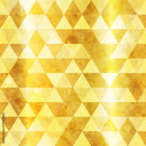 Tapety złote  gold-triangles-seamless-pattern