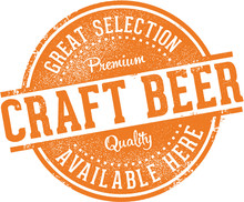 Great Craft Beer Selection Sign
