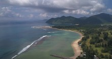 Aerial View Of Sumatra.