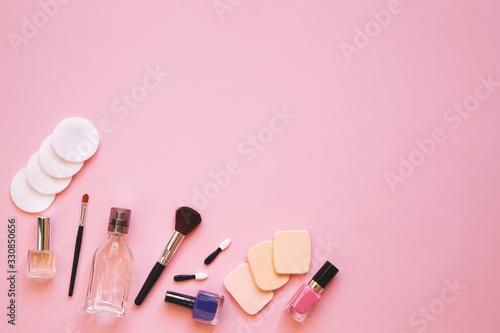 Professional makeup tools Canvas Print