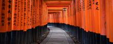 Red Torii Gates Of The Fushimi...