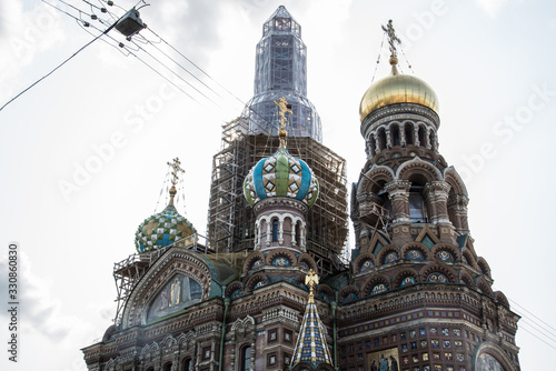 San Petersurgo. Rusia Canvas Print