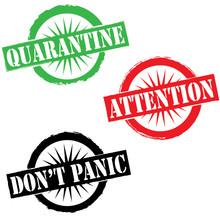 Coronavirus Pandemic Attention...