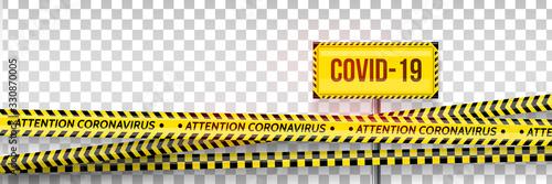 Pandemic stop Canvas Print