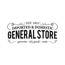 General Store Groceries