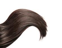 Beautiful Long Hair On White B...