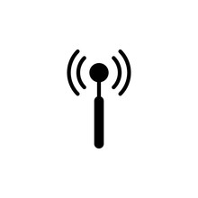Antenna Icon Design Template. ...