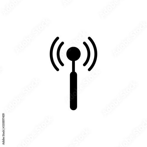 antenna icon design template. Trendy style, vector eps 10 Wallpaper Mural
