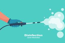 Prevention Concept. Disinfecti...