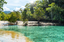 The Emerald Green Water Pool I...