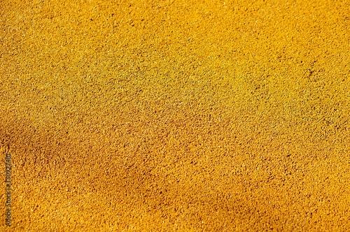 Closeup shot of a yellow wall