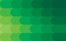 Abstract Modern Green Ellipse ...