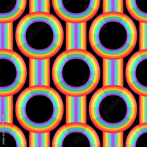 Tela Rainbow background