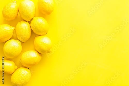 Lemons frame Tableau sur Toile